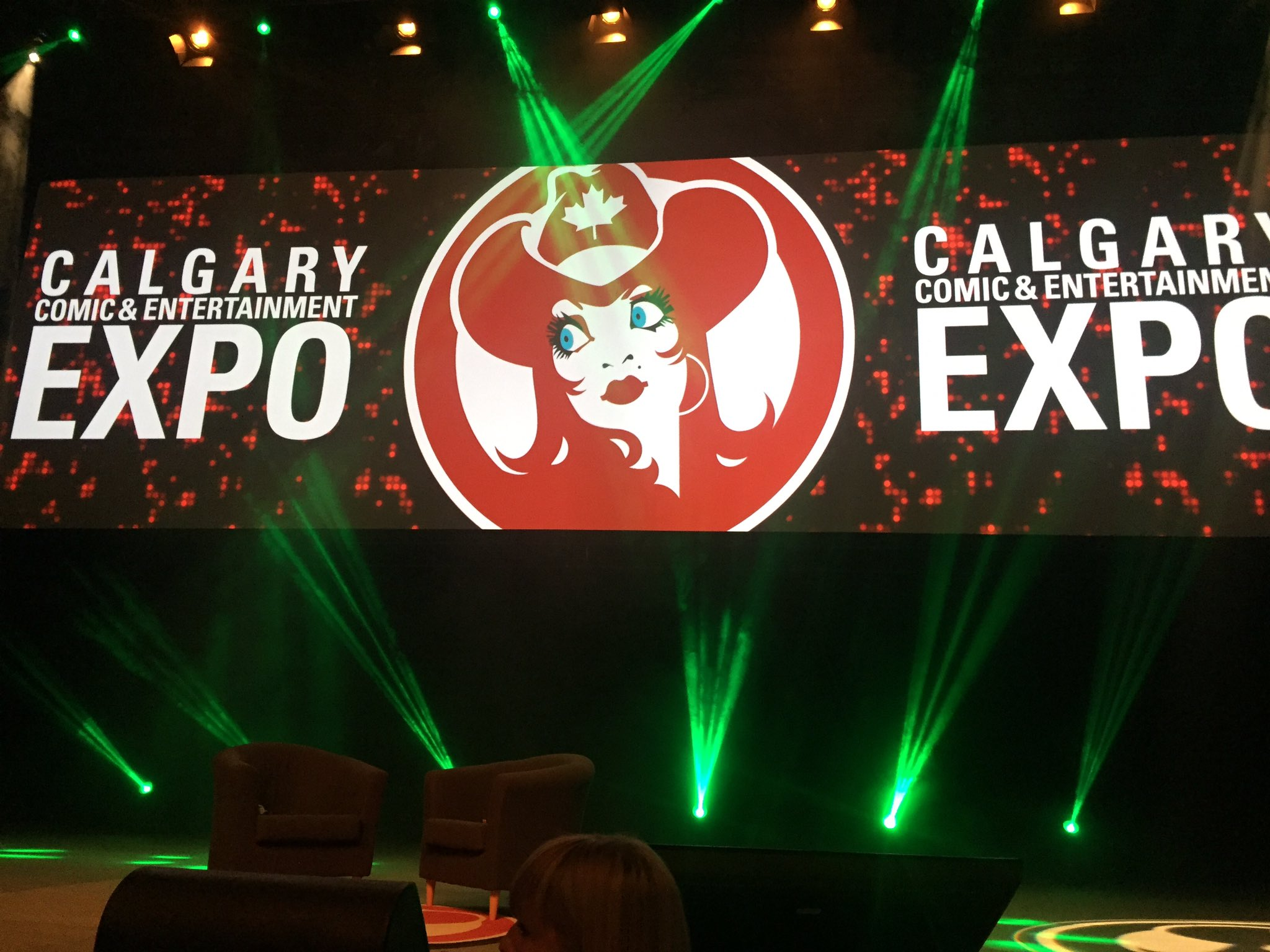 Peter Capaldi - live on stage soon! #CalgaryExpo #PCapinYYC https://t.co/ADuCas34JU