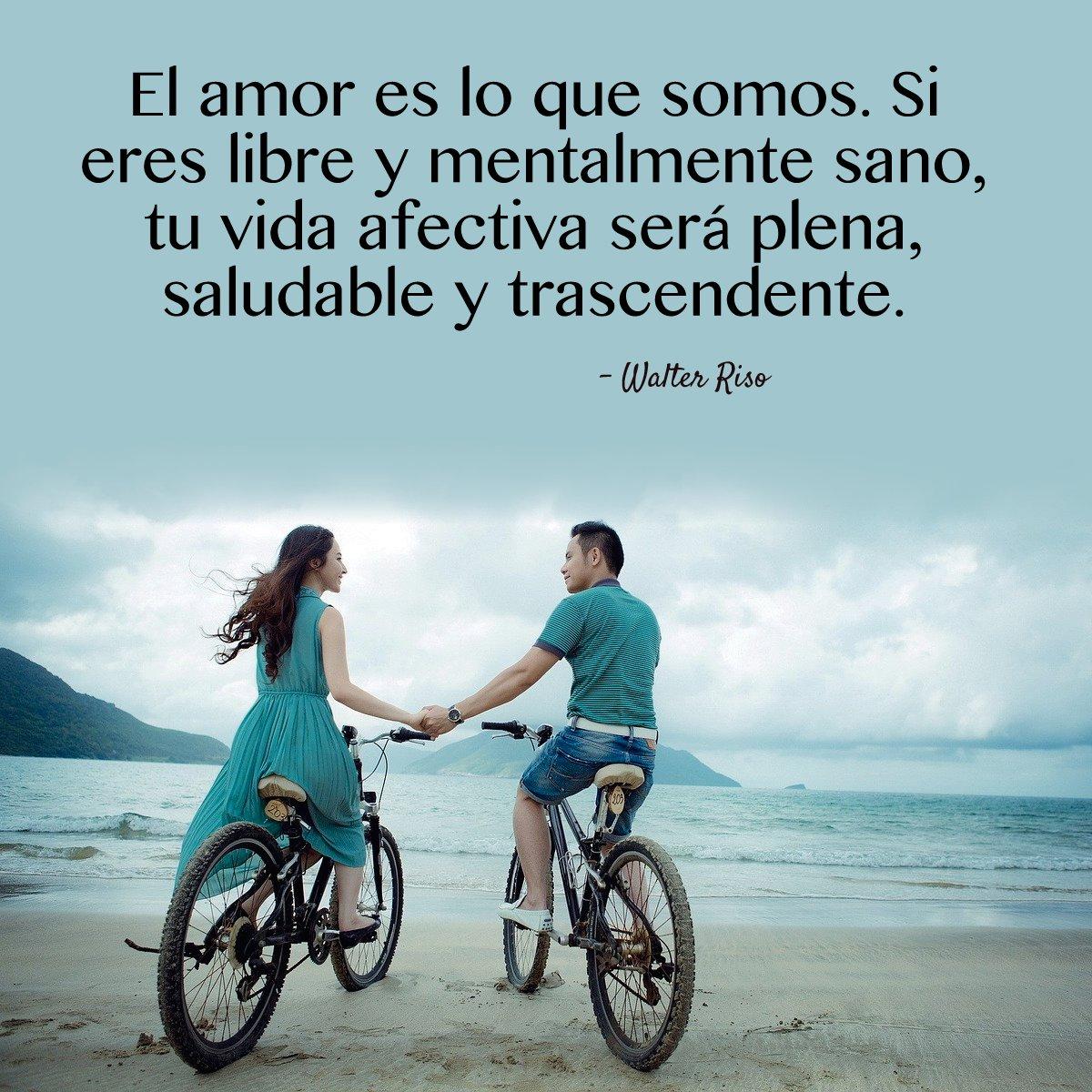 Walter Riso على تويتر El Amor Es Libre Saludable Y