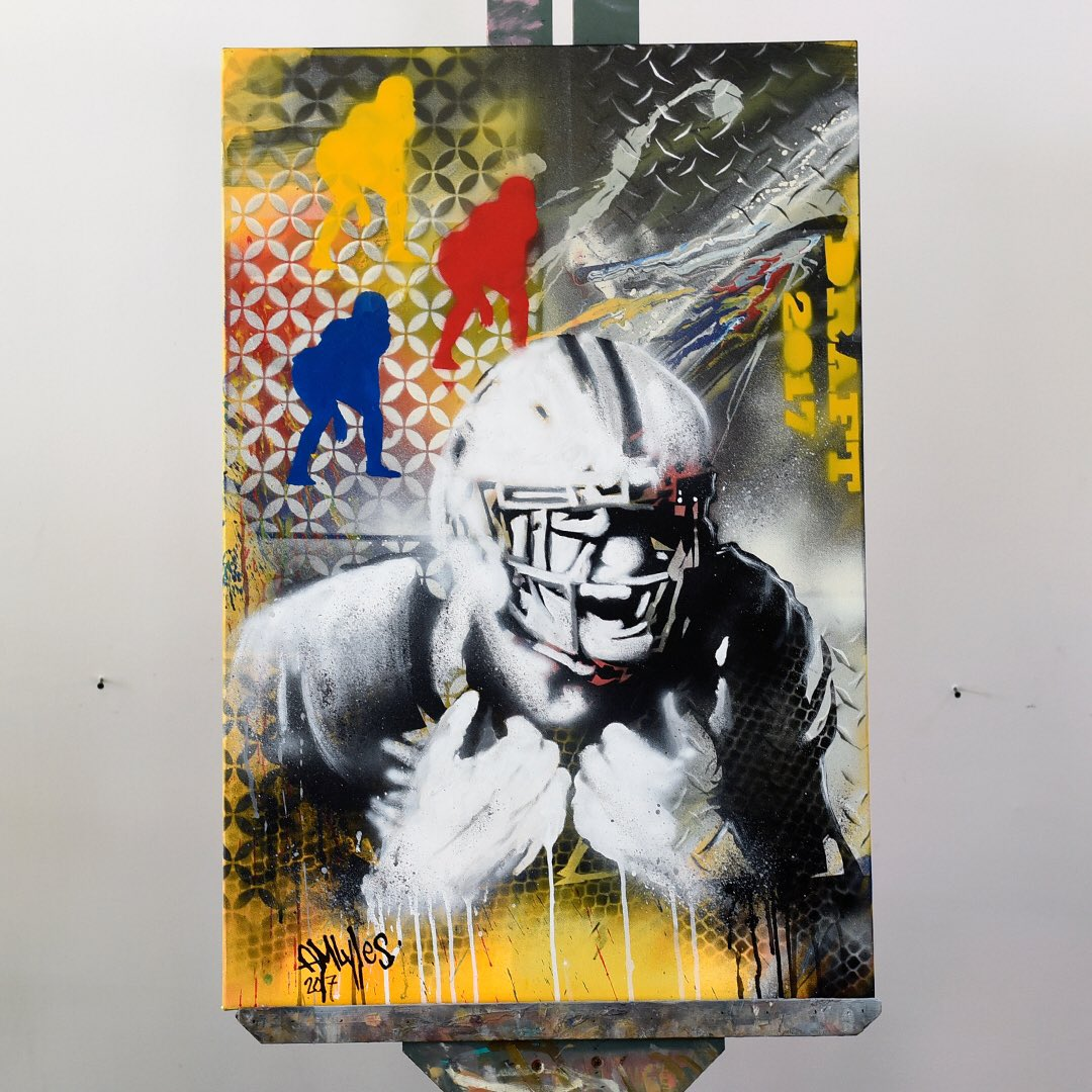 Pittsburgh Steelers On Twitter Painting The Future NFLDraft - The pittsburgh painting co