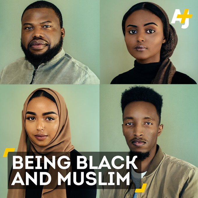 """Being black and Muslim means if you're not being called a n*gger, you're being called a terrorist."""