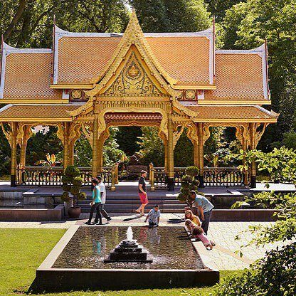 Fall Comes To Garden Of Thai Pavilion >> Stephanie Klett On Twitter The Stunning Thai Pavilion At Olbrich