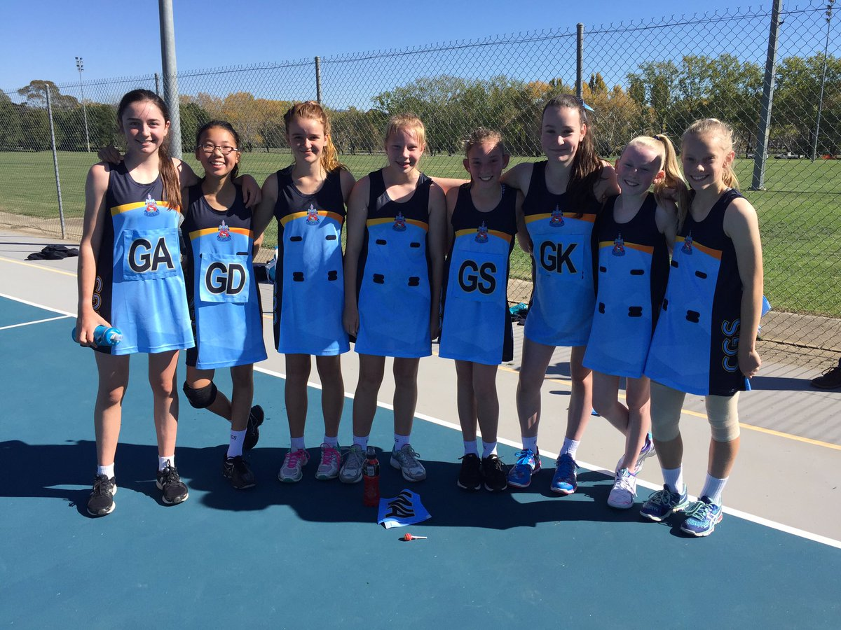 Congratulations to first @CanberraGrammar Junior Netball team on historic first win! Great to see in action. Well done to all!!