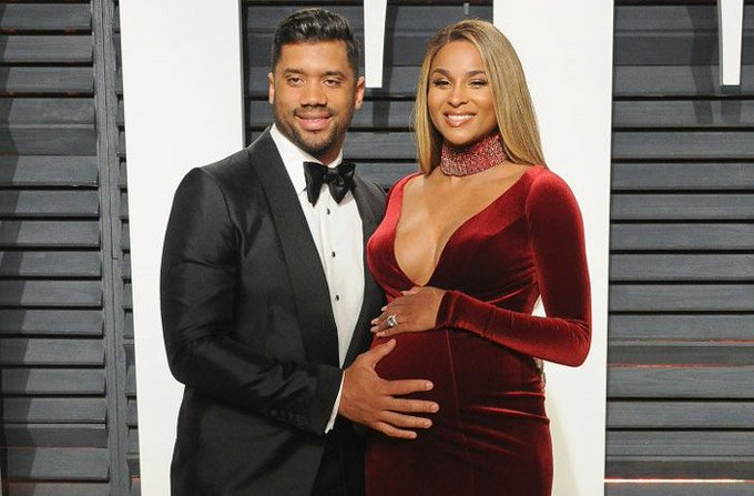 Ciara and Russell Wilson welcome daughter Sienna Princess Wilson https://t.co/yoDgveLrJr 🍼💕