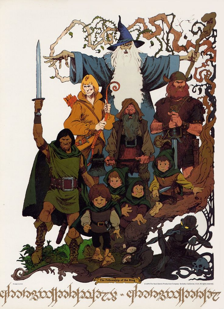 ralph bakshi lord of the rings