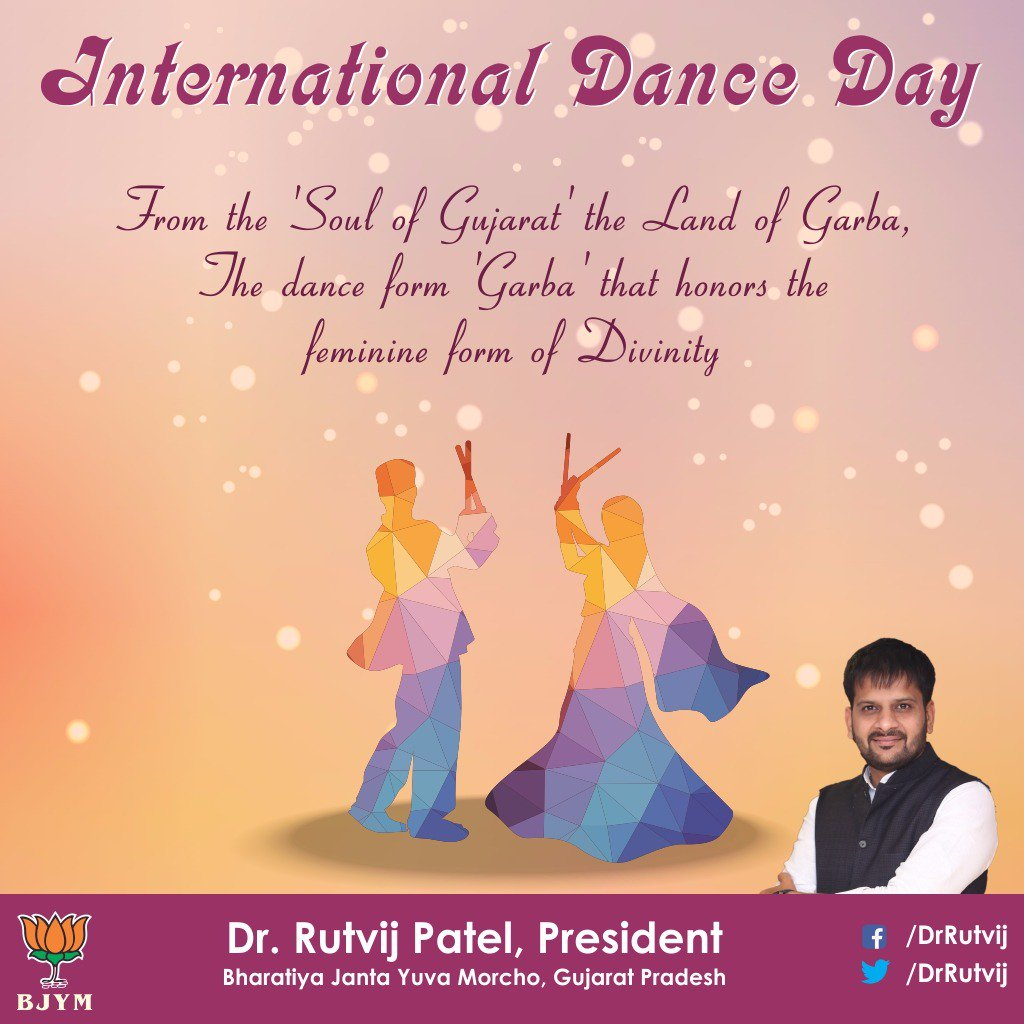 Dr Rutvij Patel On Twitter Diff Forms Of Dance Are A Way Of