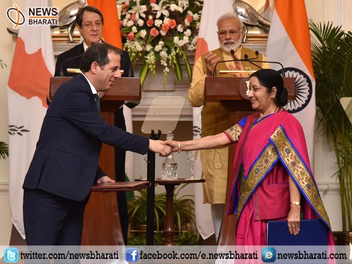 #India #cyprus signs 4 #agreement :  http://www. newsbharati.com/Encyc/2017/4/2 9/India-Cyprus-MOU &nbsp; …  via @newsbharati @PMOIndia @SushmaSwaraj  @PIB_India @RashtrapatiBhvn #Indians<br>http://pic.twitter.com/86EuOAfgwd
