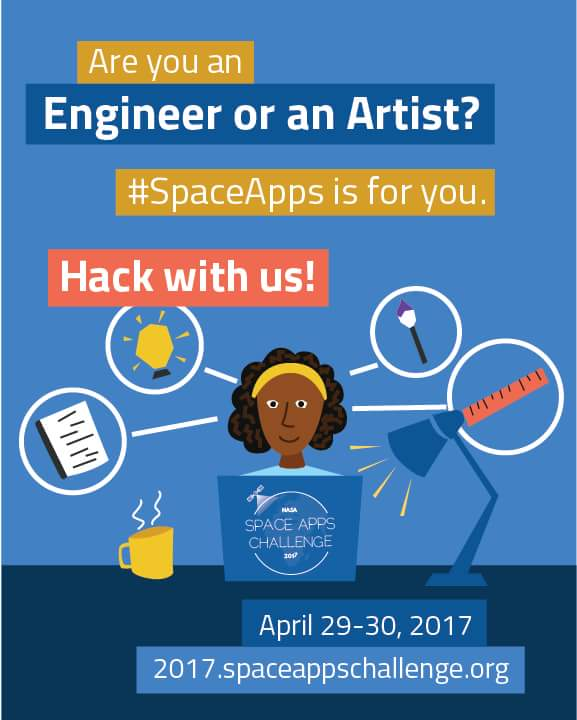 #SpaceAppsJos2017 @NASA_Technology @NASAEarth Young People solving #Earth Problems @FmstNg @ngrcommtech @nitdanigeria<br>http://pic.twitter.com/XS2G1VtMT8