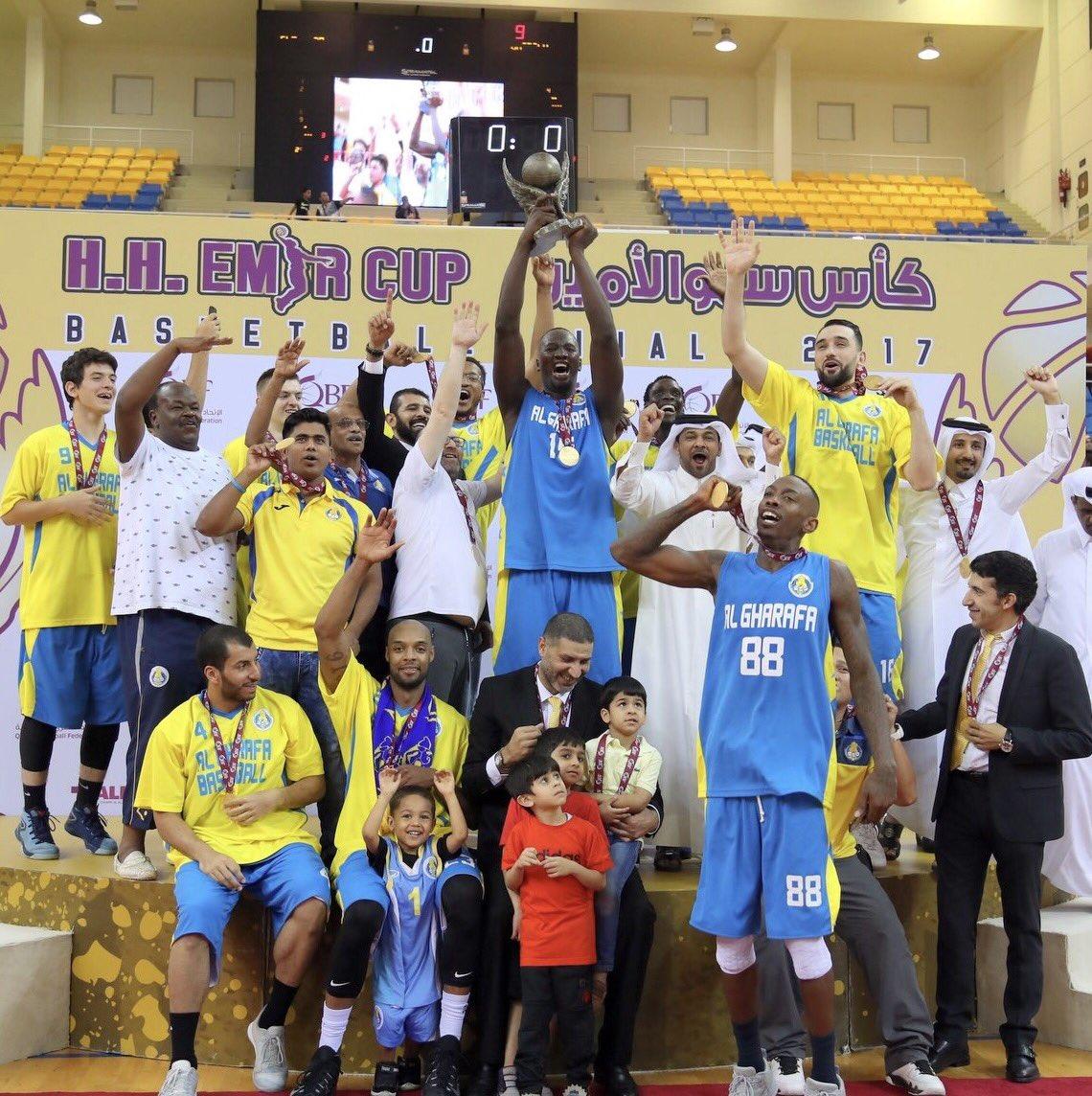 الغرافة يتوج بكأس سمو الأمير المفدى لكرة السلة للمرة الرابعة