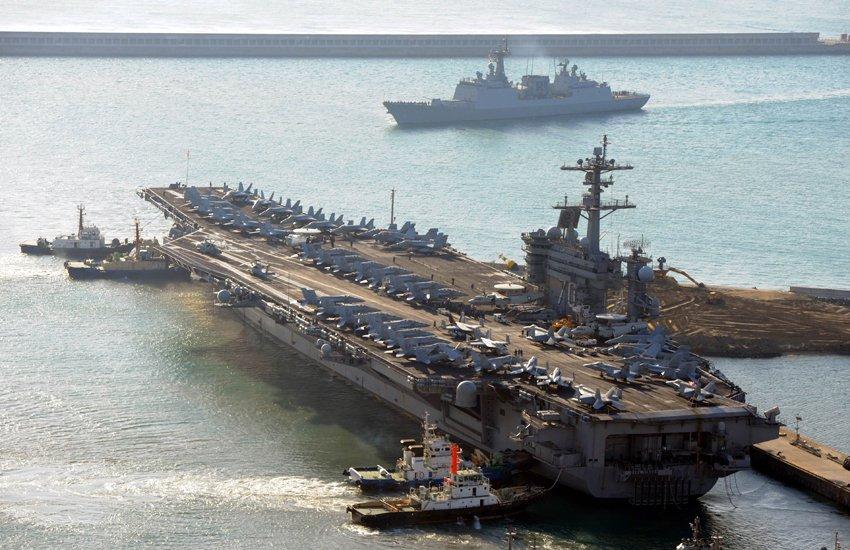 C-k9d6TVoAEqvQz - US Carrier Carl Vinson Arrives in Japan - Bohol Latest News