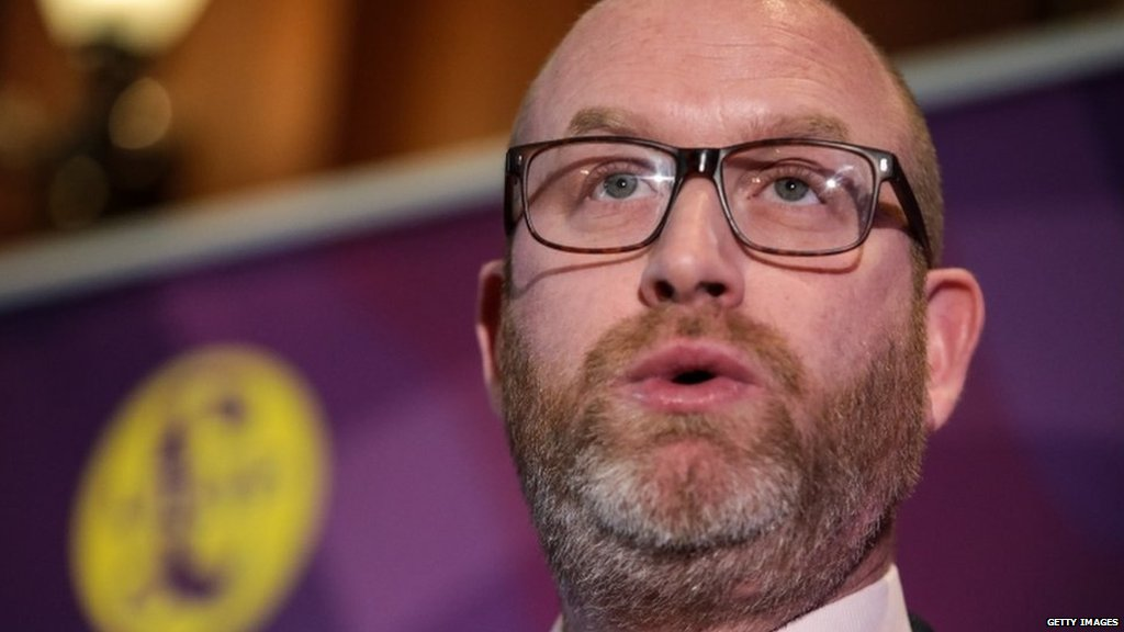 .@UKIP leader Paul Nuttall says he will stand for election in the seat of Boston and Skegness in #GE2017  https://t.co/RIJSje8Wdp