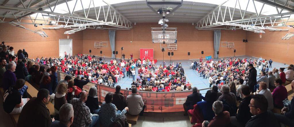 Hoy #LeónConPedro y una vez más el compromiso masivo de la militancia con Pedro @sanchezcastejon y su equipazo!!!