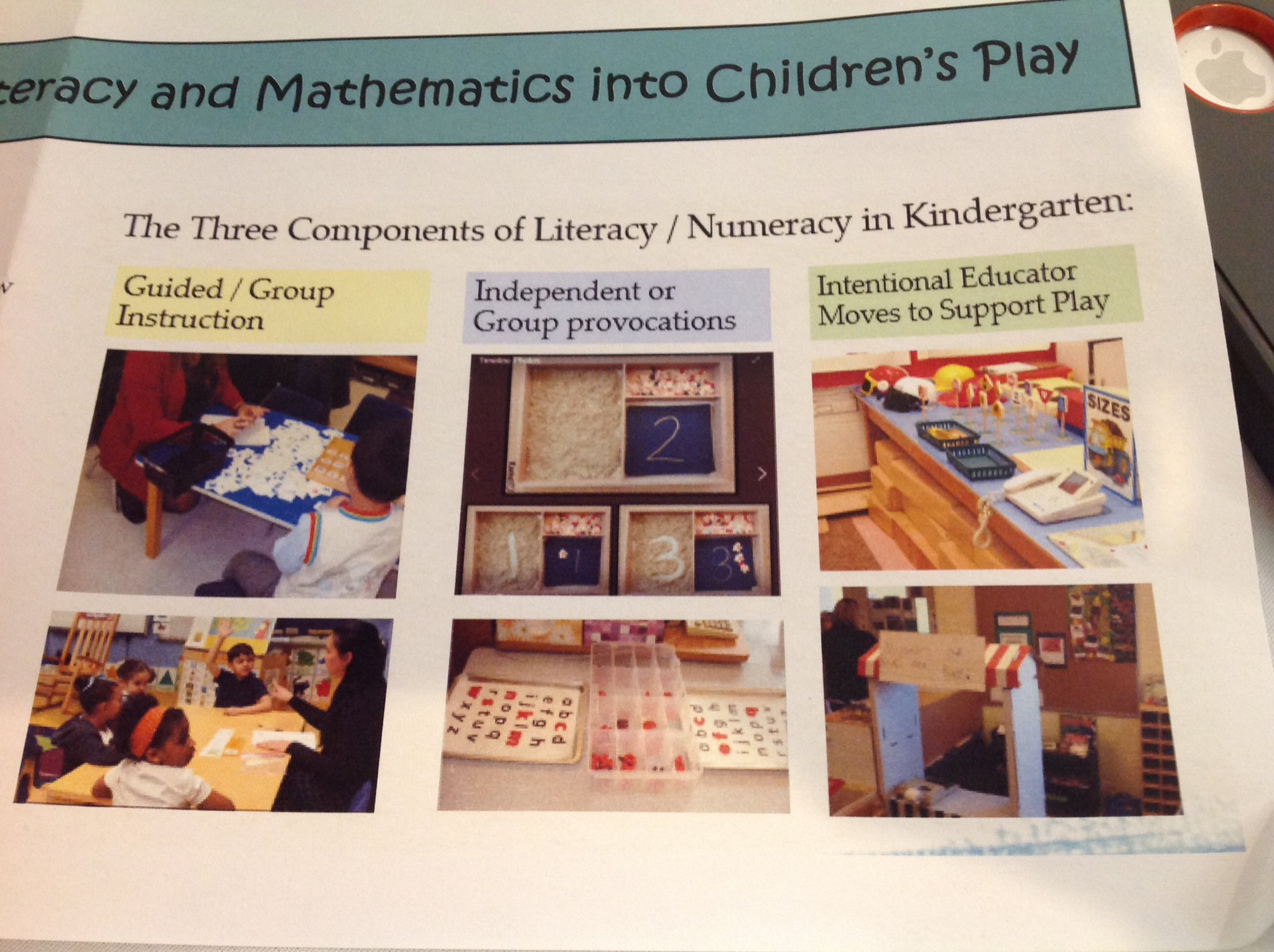 Literacy & numeracy - everywhere, so that Ss see themselves as readers, writers, mathematicians, scientists, builders & creators #ETFOpley https://t.co/iDrVuXvr1L