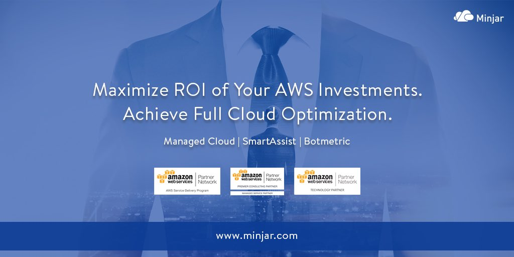 Focus on your business, while we continually optimize your #cloud for more #ROI. Talk to us for help.  http:// Minjar.com  &nbsp;   #AWS #MSP #ERP<br>http://pic.twitter.com/ycExzae94W