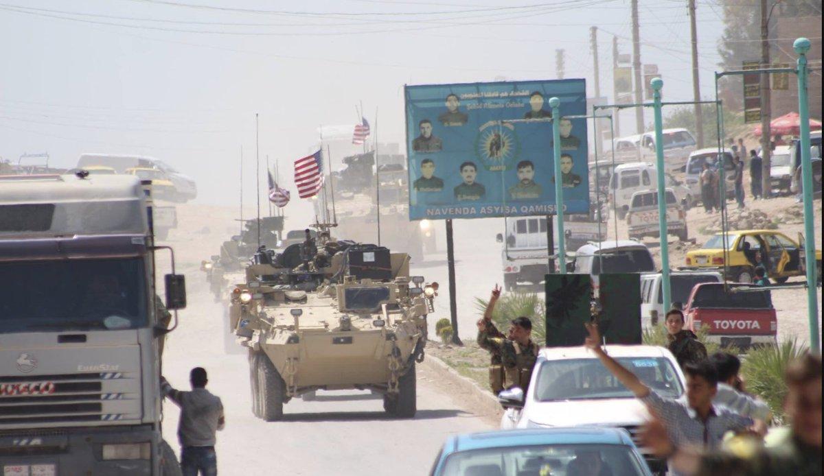 ABDli askerler YPGyle birlikte sınır nöbetinde 60