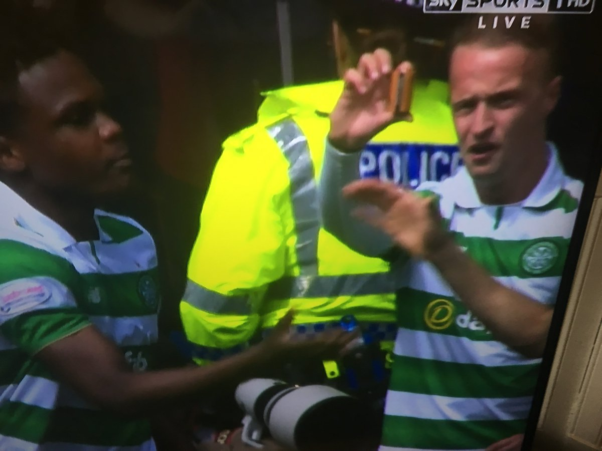 Griffiths hit by a battery by Sevco fan https://t.co/5rhmQ4L50D