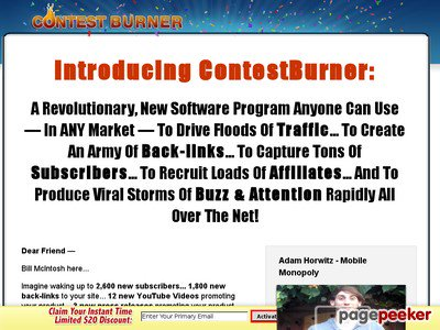 #SEO #Email #Niche #Auctions #Strategies Viral Marketing – Contest Burner Online Contest Software  http:// dlvr.it/P1QD9s  &nbsp;  <br>http://pic.twitter.com/g6hS67xfnz