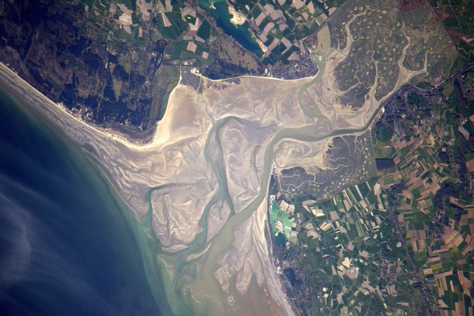 I flew over the Bay of Somme many times when I was in pilot school! #France https://t.co/tgsB5fBO9K