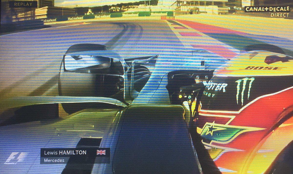 Essais #F1 sur Canal : 'Ça va très vite. On va donc obtiendre les 330 km/h!' Et y'en a qui croivent que le verbe 'obtiendre'n'existe pas!