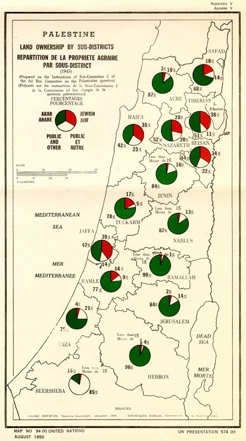 Map No. 94.  #Palestine    Publisher: United Nations  @UN Year : 1950    Arab Population   Jewish    #History  #اضراب_الكرامة #فاسطين<br>http://pic.twitter.com/v58AejMjZm