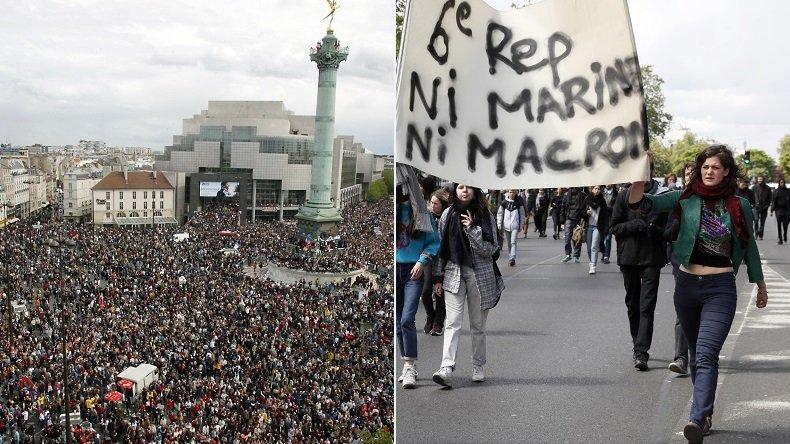 En 2017, le «Front républicain» anti-Le Pen ne fait plus recette dans la rue (VIDEOS, PHOTOS) https://t.co/5MJeKJ5Fq2