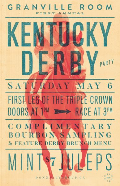 Races With Granville Rooms Kentucky Derby Party