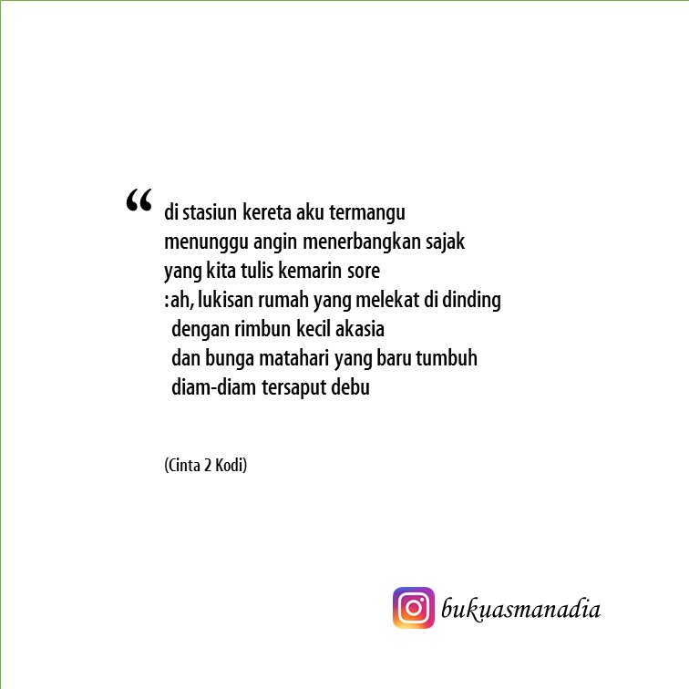quote buku asmanadia no kutipan novel cinta kodi karya
