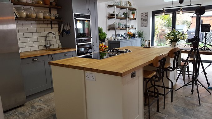Kitchen Sanctuary On Twitter My Kitchenreveal Post Is Finally Up Check Out The Full Remodel Plus Video Here Https T Co Huatey63kn