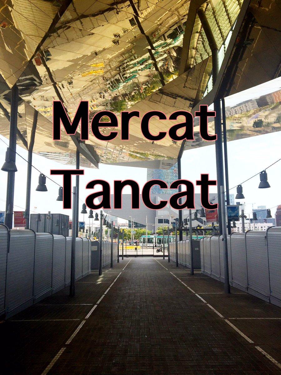 #dilluns dia 1 de #maig #mercat #tancat #lunes dia 1 #mayo #mercado #cerrado #Mondia 1 #may the #market is #closed<br>http://pic.twitter.com/hsmgCkKGmd