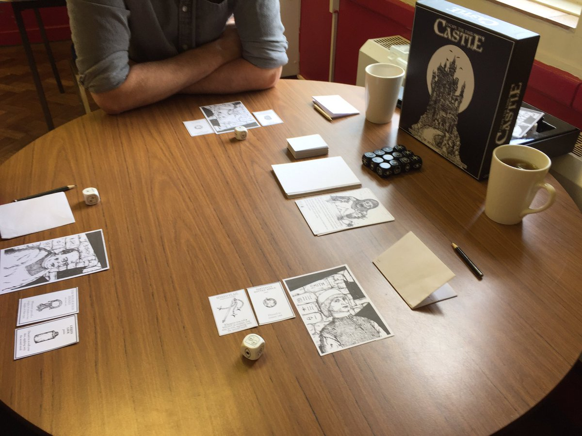 """sam on twitter: """"had fun playtesting this: escape from the dark"""