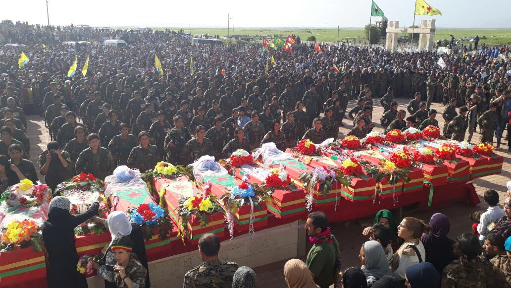 Война в Сирийском Курдистане
