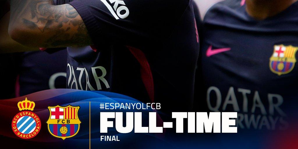 """""""RCD ESPANYOL"""" 0-3 """"FC BARCELONA"""" ! ! !"""