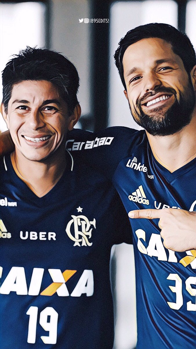 "1895Edits on Twitter ""Dário Conca & Diego Ribas • wallpaper"