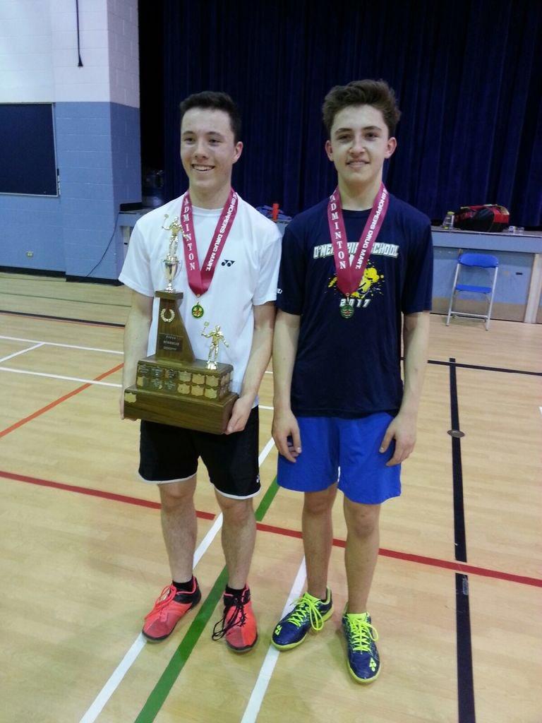 Congrats Trystan Black Balfour Collegiate, winning Boys Badminton Singles Title. Collin Tetreault ONeill wins Silver! https://t.co/XnFIA4lNGe