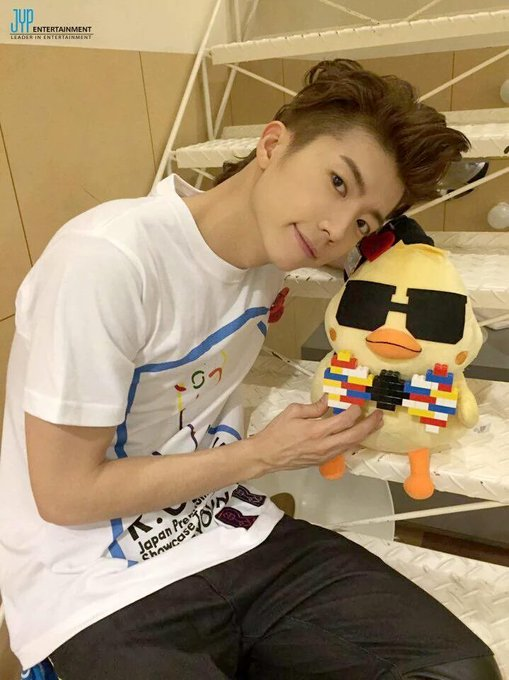 Happy birthday to my cutest chicken Jang Wooyoung