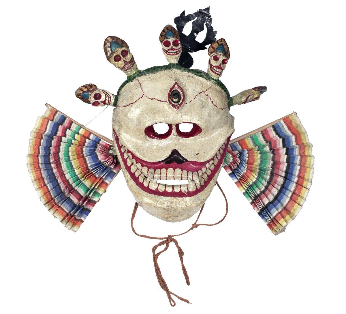 test Twitter Media - #InternationalDanceDay These items are parts of Cham Dance costumes worn by Tibetan Buddhist monks https://t.co/XNNpq8rs6S https://t.co/kwJf7Bd4CU