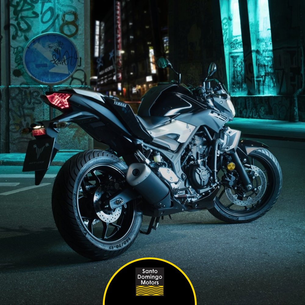 La nueva Yamaha MT 03 representa una nueva dirección en el diseño. Conócela en nuestro showroom hoy hasta las 5:00 PM. #SantoDomingoMotorspic.twitter.com/ ...
