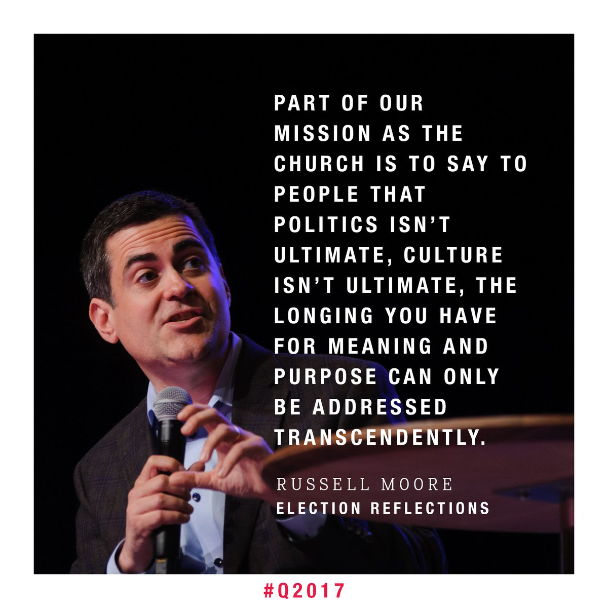 Great perspective from @drmoore at #Q2017 https://t.co/jZP7QoA9H4