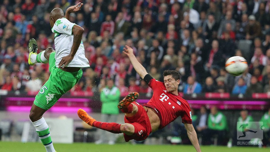 Wolfsburg 0-4 Bayern Munich Highlights