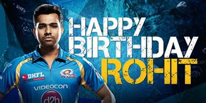 Happy birthday Rohit Sharma birthday treat mi won in super over