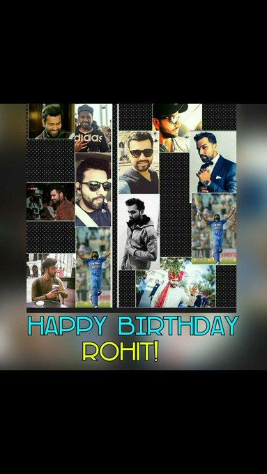 Happy birthday Rohit sharma         Super over