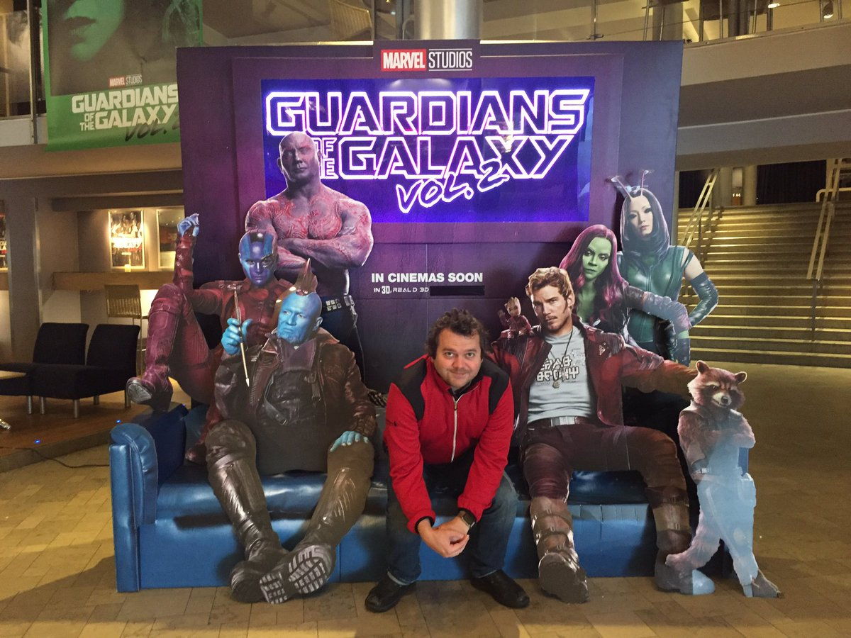 I'm not saying I flew to Europe to see #GuardiansoftheGalaxyVol2 early, but I flew to Europe to see it early. https://t.co/VKQeuMmmv3