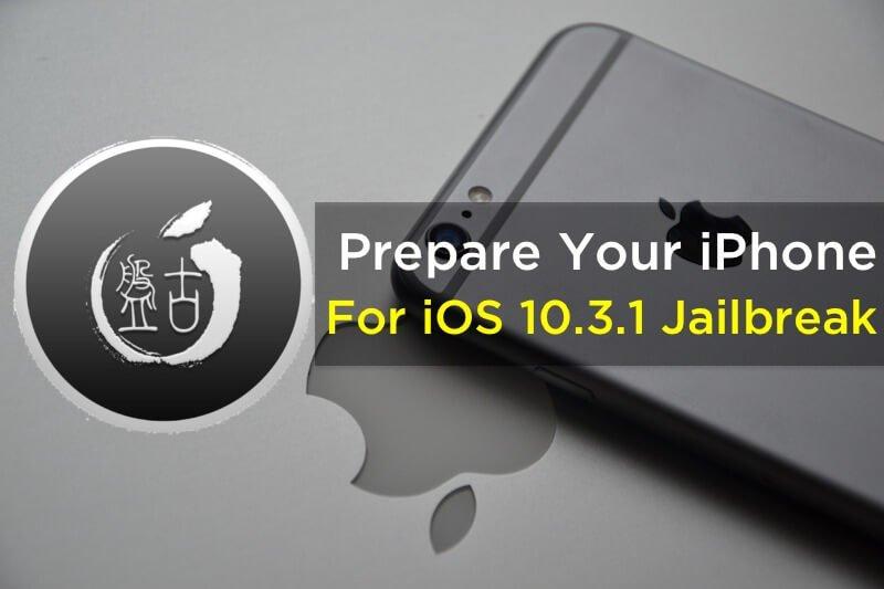 Prepare Your iPhone for iOS 10.3.1 Jailbreak - https://t.co/e46WjNOIS1 https://t.co/2Y27S7Fu0K