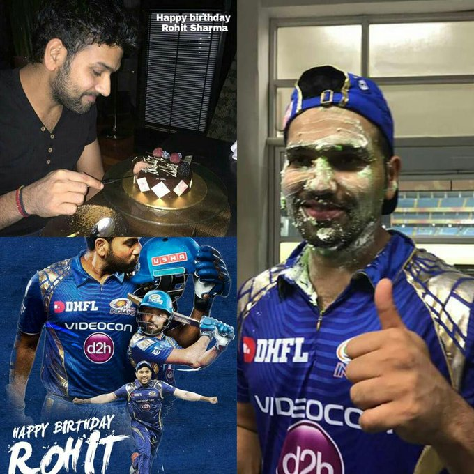 Captain. Leader. Hitman. Let\s wish our skipper Rohit Sharma a very happy birthday!