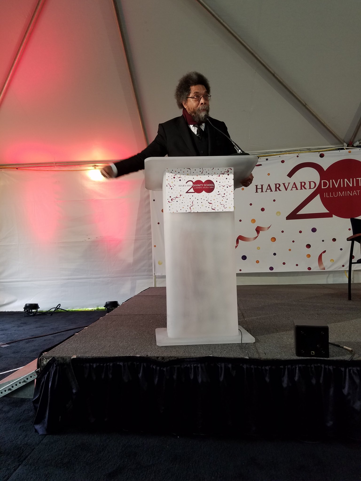 'We need more spiritual exemplars rather than market-driven capitalists' --@CornelWest  West #HDS200 #HDSbicentennial  .@HarvardDivinity https://t.co/pncTzp7iqq