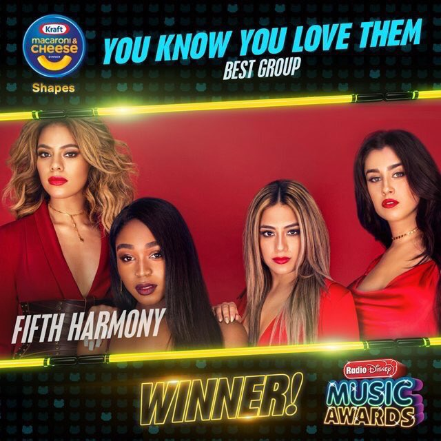 The perfect combination 👌🏽 @FifthHarmony @ Harmonizers CONGRATULATIONS!!! Well deserved 👏🏽👏🏽🙌🏾🙌🏾❤️