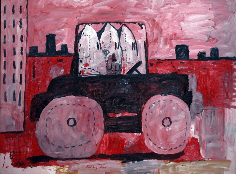One Hundred Days of Soulless: Philip Guston, City Limits, 1969