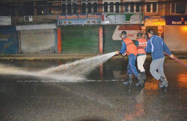 काठमाडौं धुलोरहित बन्न अझै चार महिना लाग्ने