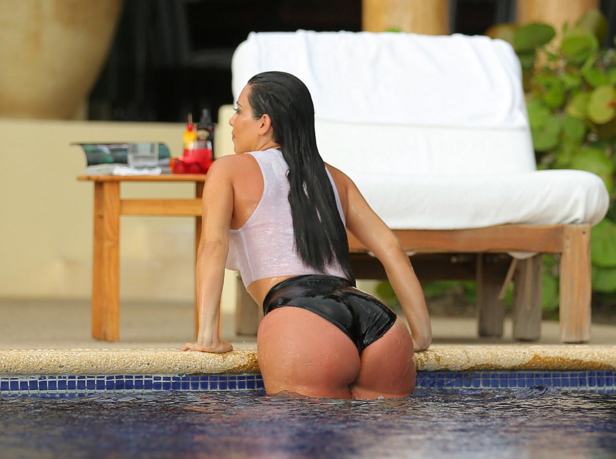 Kim kardashian's hit the big time