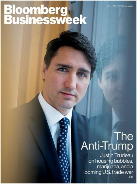 #Trudeau  Bloomberg Businessweek #polcan #cndpoli #polqc <br>http://pic.twitter.com/wAywTg58pH