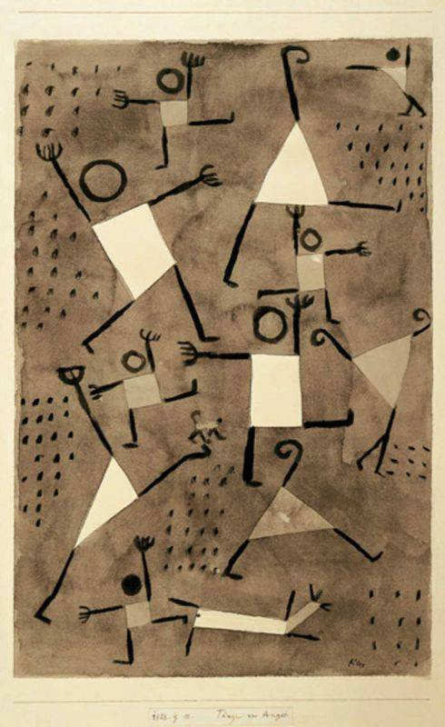One Hundred Days of Soulless: Paul Klee, Dancing Under the Empire of Fear, 1938